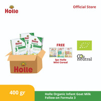 Holle Organic Infant Goat Milk Follow-on Formula 3 ( 3 pcs )