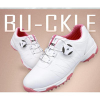 Unik PGM Sepatu Sneakers Anti Air GOLF Slip untuk Wanita Diskon