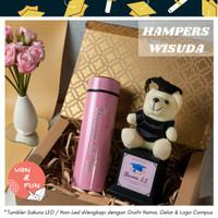 Kado Wisuda / Boneka Wisuda / Hadiah Kelulusan / Hampers Graduation - LED