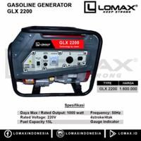 Genset 1000 watt LOMAX GLX2200 LOMAX GLX 2200