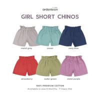 ARDENLEON Girls Short Chinos Pendek