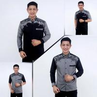 Baju Koko Muslimin Pria Modern 04 Murah Model Elegan Terbaru HITS 2021