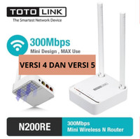 Totolink N200RE Router 2 Antenna Wireless N Mini 300Mbps