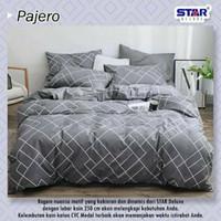 Bedcover set sprei Motif Pajero ukuran 90x200-100x200-120x200