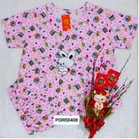 Baju Tidur HOKI Celana 3/4 Katun wanita (baby rabbit)