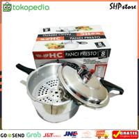 Panci Presto NIKO/SANEX/HAPPY CALL Kapasitas 8 liter Murah dan Berkual