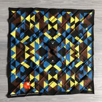 Bandana Slayer Eiger Mountain Blocks - Original - Brown