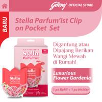 Stella Parfum'ist Clip On Pocket Set Luxurious Flower Gardenia