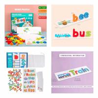 Mainan Edukasi Anak Game Belajar Susun Kosakata - SPELLING GAME