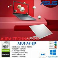 ASUS A416JP i5-1035G1/4GB/SSD 512GB/MX330 2GB/14FHD/WIN10/OHS 2019