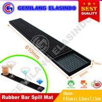 Rubber Bar spill Mat   Karet Alas Gelas Bartender dan tatakan Gelas