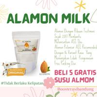 Susu Almond / 5x minum/ 20.000 Testimoni / ASI BOOSTER/ Alamon Milk - Original
