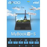 Laptop Axioo MyBook 14+ S Ram 4GB SSD 256GB Intel N3350 Garansi Resmi