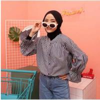 kemeja gadis/blouse/crop top/outher/baju atasan wanita/grosir baju