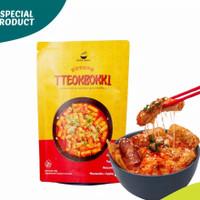 Tteokbokki Wort it Koreakeun / Original 100% / Halal