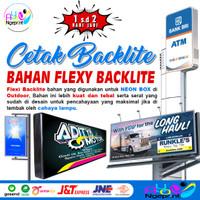 Cetak Spanduk Flexy Backlite   Banner Untuk Neon Box   Print Outdoor