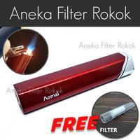 Korek Api Bara Single Jet Flame Lighter AOMAI Stick Colors