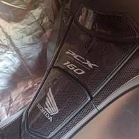 aksesoris Honda New PCX 160 tankpad stiker timbul pelindung deck motor