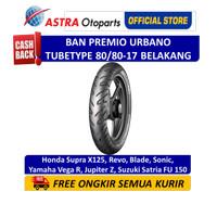 Ban Belakang Aspira Premio Urbano Tube Type 80/80-17 (01-URB-80/8017R)