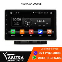 Asuka AK 2000DL Head Unit Android 10 Inch Apple Car Play Android Auto
