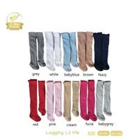Lil Me & Friend Legging Bayi Polos - 0-6 M, Baby Grey