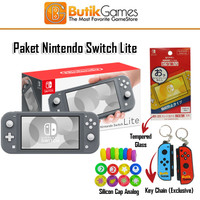 Nintendo Switch Lite Console Mesin Grey Gray Abu Abu