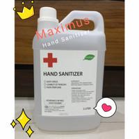 Hand sanitizer ecology 2 liter cair non perfume lembut kemenkes