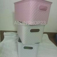 Keranjang Plastik Botega BK 381 Asvita Nampan Tray Baki Basket Kotak