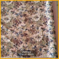 kain Chiffon/sifon motif bunga lebar 1.15 m