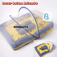Paket Kasur Bayi Kolam Kelambu Set Bayi Baru Lahir / kasur Baby Nest F