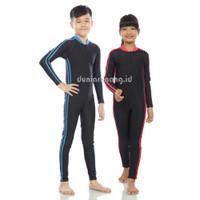 Baju Renang / Diving / swimsuit anak SD panjang unisex cewe/cowo