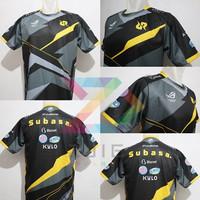 Jersey Kaos Baju Gaming RRQ AXXEL RRQ 2021 FREE NICKNAME & STICKER - XS