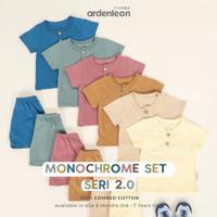 Ardenleon Monochrome 2.0 (setelan baju dan celana anak)