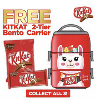 KitKat Rantang Special Edition with 18pcs Cemilan Import