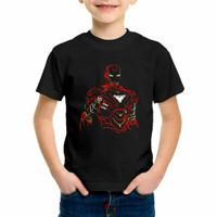 kaos anak laki laki iron man avengers baju