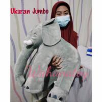 boneka gajah jumbo yelvo