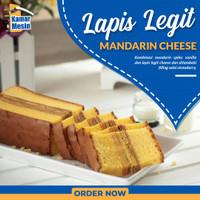 MALICA Mandarin Cake Lapis Legit Kue Mandarin Cake Lapis Legit Cake - CHEESE