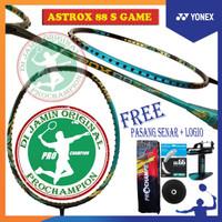 NEW YONEX ASTROX 88S 88 S GAME RAKET BADMINTON ORIGINAL