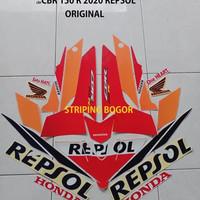 Striping Stiker Motor Honda CBR 150 R Repsol