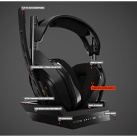 ASTRO A50 WIRELESS HEADSET GAMING + BASE STATION PC / MAC / PS4 / XBOX