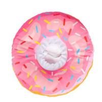 Pet Cone Bantal Model Donut Untuk Anjing dan Kucing - Pink, XS