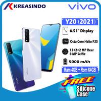 Vivo Y20 2021 4/64 Ram 4GB Internal 64GB Garansi Resmi
