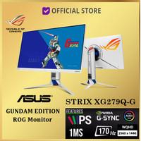 ASUS ROG Strix Gaming XG279Q-G LED Monitor 27 XG279Q Gundam Edition