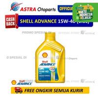 Shell Advance AX5 15W-40 0.8 Liter untuk Motor Manual (Kemasan Baru)