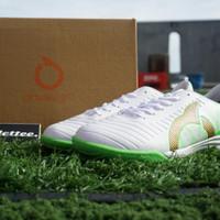 Sepatu Futsal Ortuseight Catalyst Chyper IN White Green Gold Murah - 43