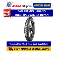 Ban Depan Aspira Premio Urbano Tube Type 70/80-14 (01-URB-70/8014F)