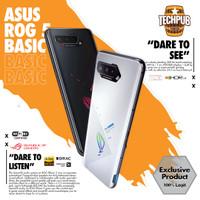 Asus ROG Phone 5 Basic Pro Ultimate   Black White Garansi 1 Tahun