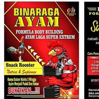 Bina Raga Ayam Suplemen dan nutrisi ayam laga