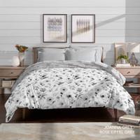 King Rabbit Bed Cover Ukuran Single 160x230 cm Bambu Joanna Grey