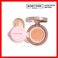 BABYPINK SKINCARE BABY PINK ULTRA SATIN CUSHION NATURAL BEDAK WAJAH
